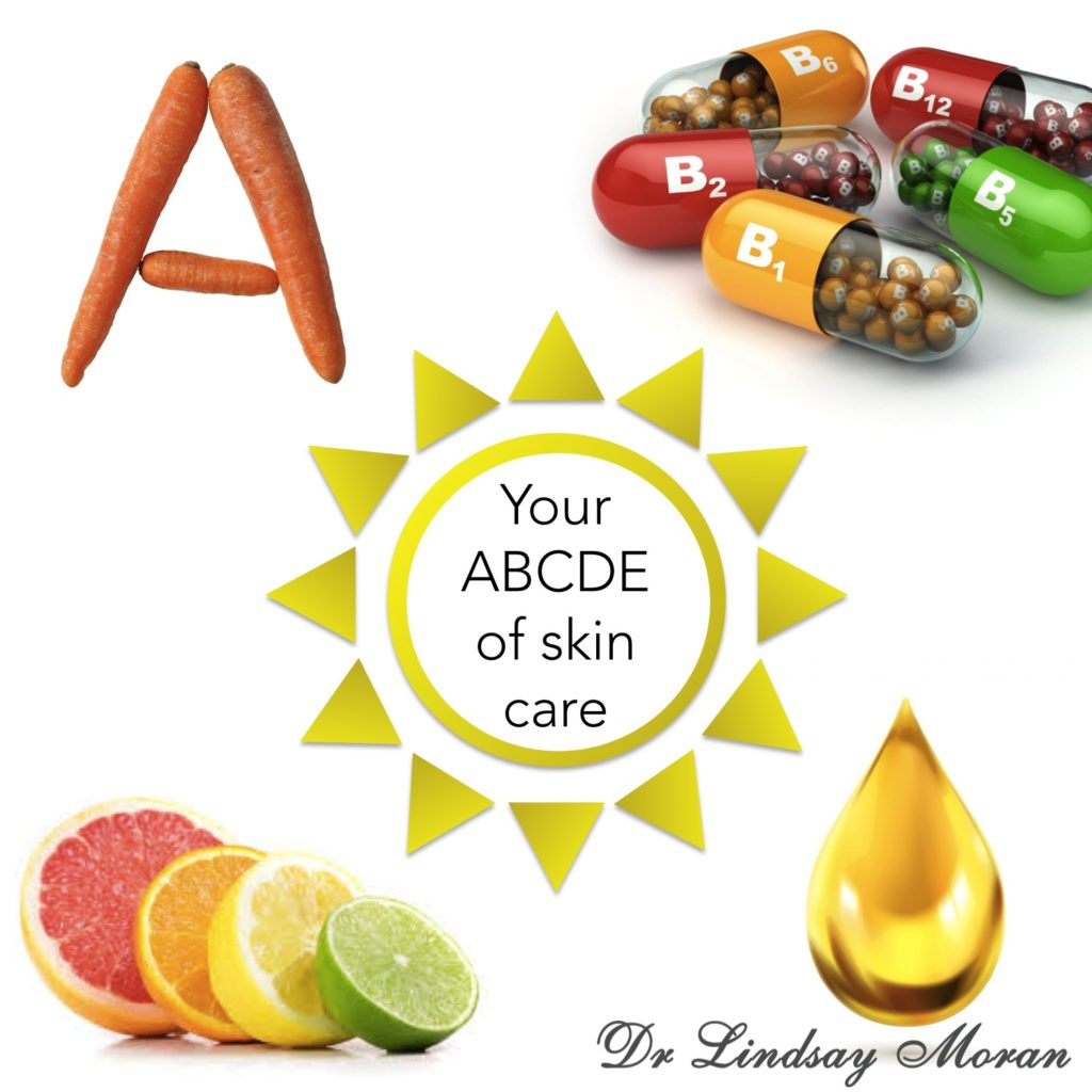 abcde of skin care